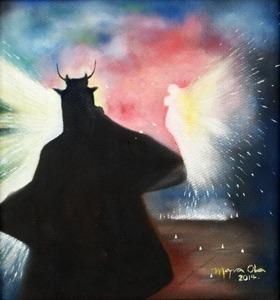 Artista: Mayra Ola. Año: 2014. Técnica: Óleo sobre durpanel